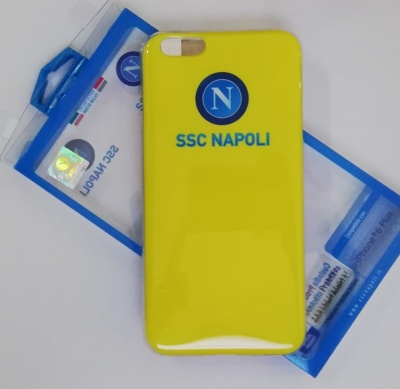 Cover gialla Ssc Napoli per iphone 6 plus