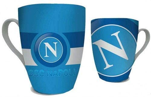 Tazza logo digitale ssc napoli in scatolo esagonale