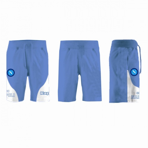 ZONGRIVY SHORT IN MICROFIBRA AZZURRO JUNIOR SSC NAPOLI